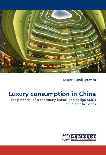 9783844395570: Luxury consumption in China