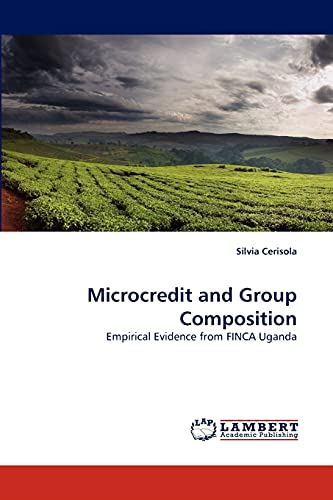 Microcredit and Group Composition: Silvia Cerisola