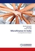 9783844399806: Microfinance In India
