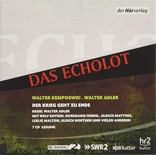 9783844517255: Das Echolot: Der Krieg geht zu Ende