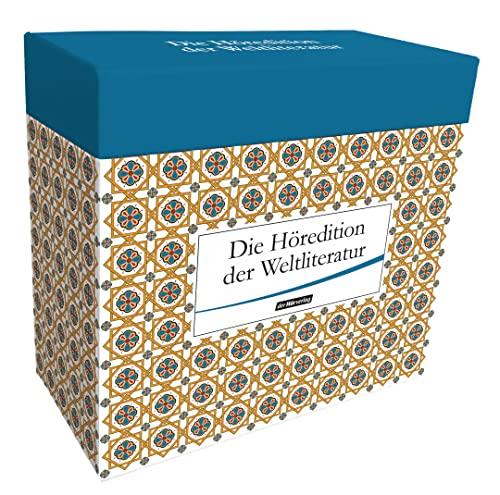 Die Höredition der Weltliteratur.: Lesung/Anthologie. Gelesen von Gert Westphal, Rolf Boysen ...