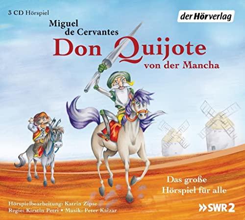 Don Quijote von der Mancha: Das große: Cervantes Saavedra, Miguel