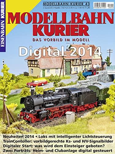 9783844617436: Modellbahn-Kurier 43. Digital 2014
