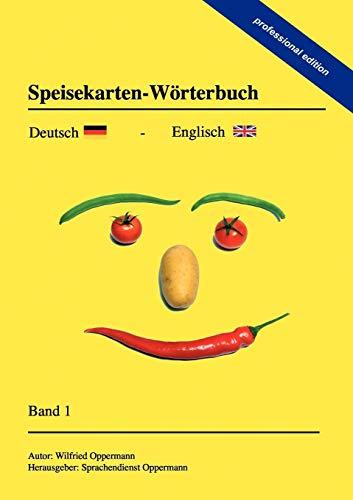 9783844824100: Speisekarten-Worterbuch - Professional Edition
