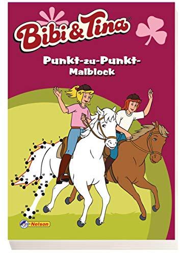 9783845100104: Bibi und Tina - Punkt-zu-Punkt-Malblock