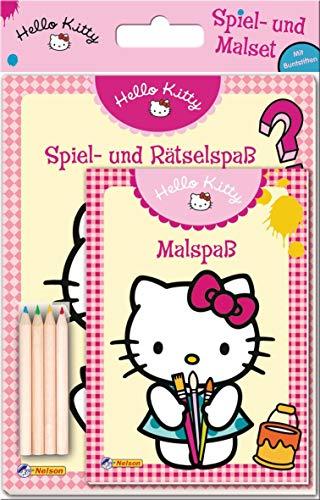 9783845100647: Hello Kitty Spiel- und Malset