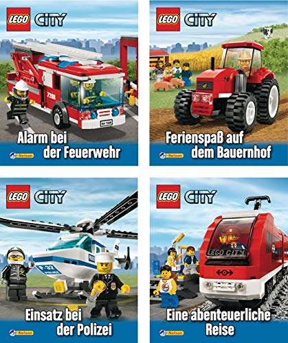 9783845100692: Mini-Bücher 24er-Display LEGO City 1-4