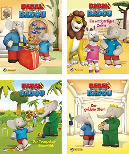 9783845101194: Mini-Bücher 24er Display: Babar 1-4