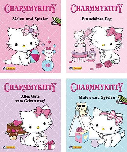 9783845101200: Mini-Bücher 24er Display: Charmmy Kitty 1-4