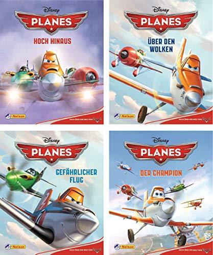 Disney Planes. Nr.1-4 : Hoch hinaus; Über den Wolken; Gefährlicher Flug; Der Champion