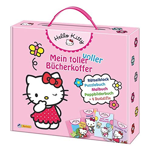 9783845101910: Hello Kitty: Mein toller voller Bücherkoffer