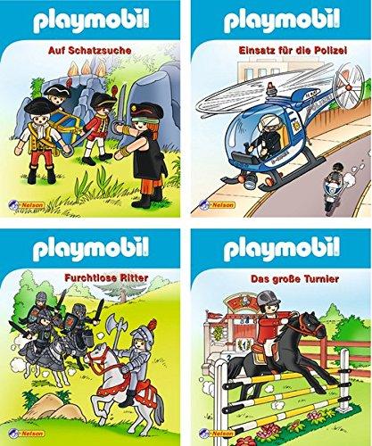 9783845104676: Nelson Mini-Bücher: 4er Playmobil 1-4