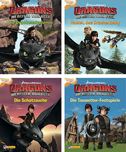 9783845104829: Dragons: Die Reiter von Berk 1-4