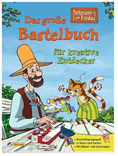 9783845104911: Pettersson & Findus: Das große Bastelbuch für kreative Entdecker: Beschäftigungsspaß in Natur und Garten/Mit Rätsel- und Quizfragen (Pettersson und Findus)