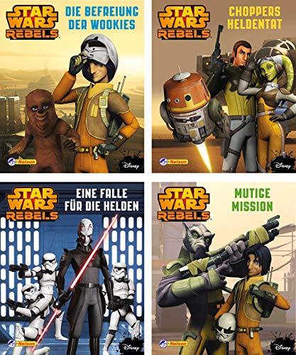 9783845105338: Star Wars Rebels 1-4