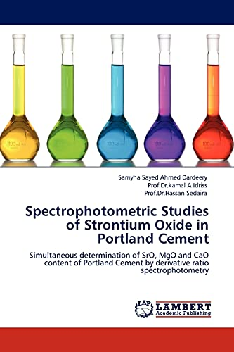 Spectrophotometric Studies of Strontium Oxide in Portland: Samyha Sayed Ahmed