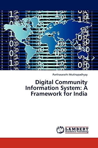 9783845401973: Digital Community Information System: A Framework for India