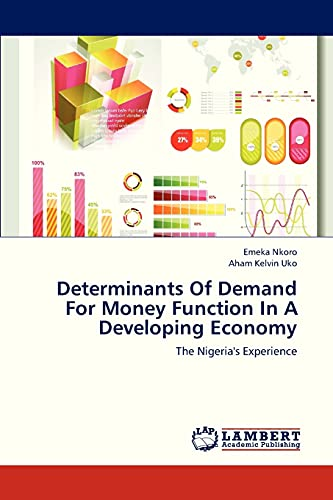9783845410005: Determinants Of Demand For Money Function In A Developing Economy: The Nigeria's Experience