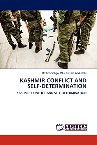 9783845412917: Kashmir Conflict and Self-determination