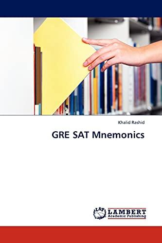 GRE SAT Mnemonics: Khalid Rashid