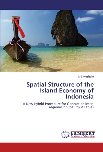 9783845418476: Spatial Structure of the Island Economy of Indonesia: A New Hybrid Procedure for Generation Inter-regional Input-Output Tables