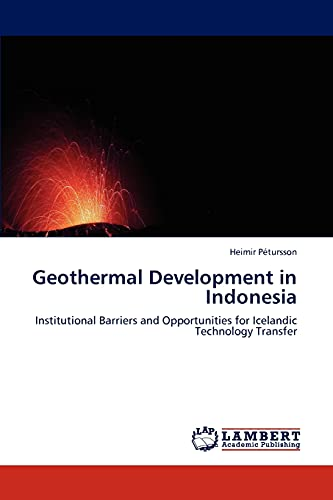 9783845423647: Geothermal Development in Indonesia: Institutional Barriers and Opportunities for Icelandic Technology Transfer