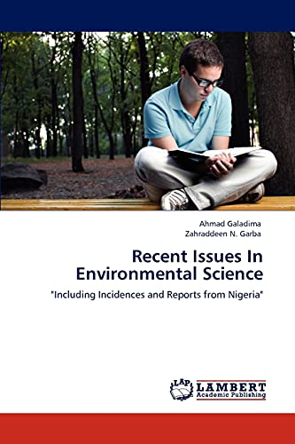 9783845429151: Recent Issues In Environmental Science
