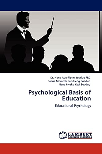 9783845435268: Psychological Basis of Education: Educational Psychology