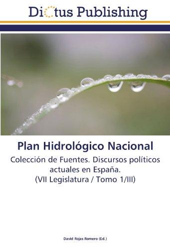 Plan Hidrológico Nacional: David Rojas Romero