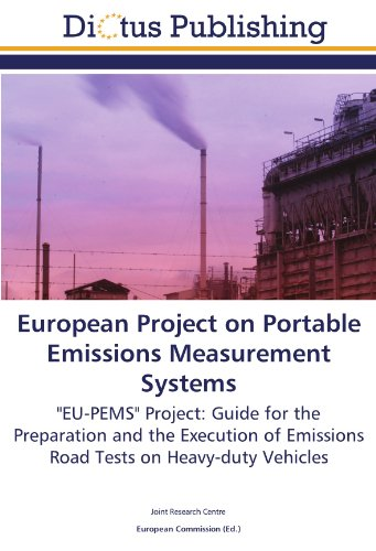 9783845457499: European Project on Portable Emissions Measurement Systems: