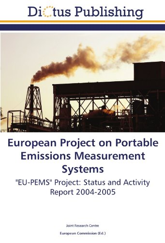 9783845457840: European Project on Portable Emissions Measurement Systems: