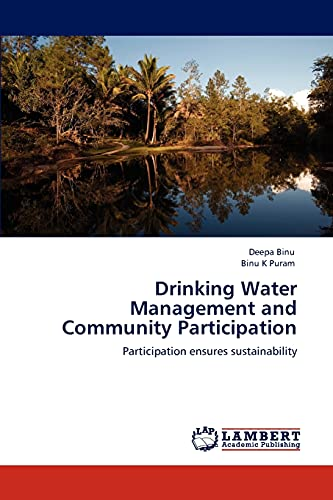Drinking Water Management and Community Participation: Deepa Binu
