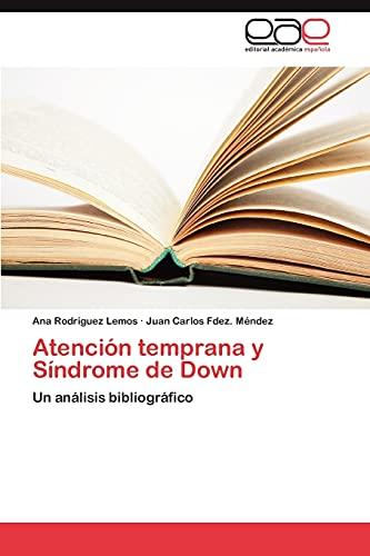 9783845480138: Atencion Temprana y Sindrome de Down