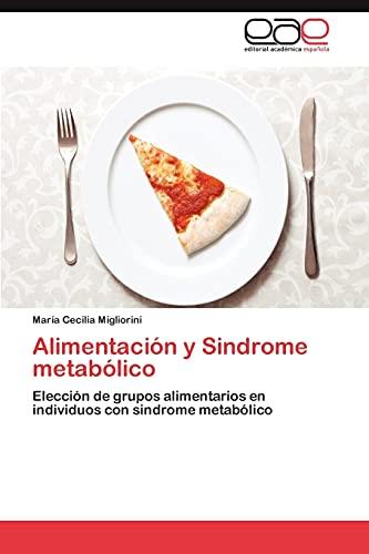 9783845481234: Alimentación y Sindrome metabólico