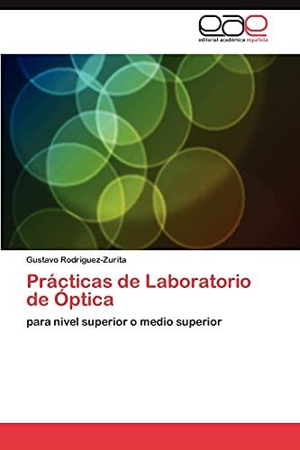 9783845481524: Prácticas de Laboratorio de Óptica