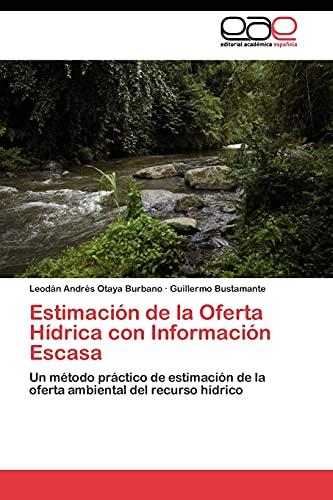 Estimacion de La Oferta Hidrica Con Informacion: Leod?n Andr's Otaya