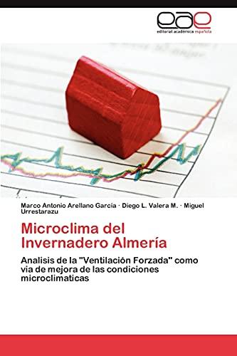 9783845488318: Microclima del Invernadero Almería: Analisis de la