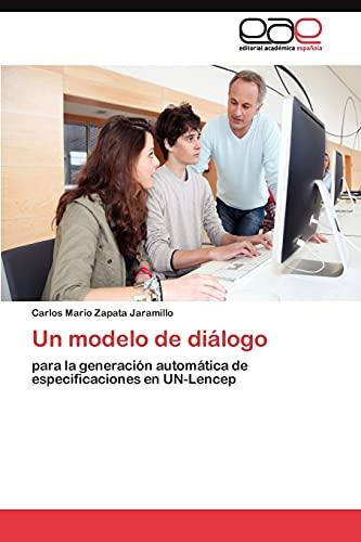 9783845488578: Un modelo de diálogo