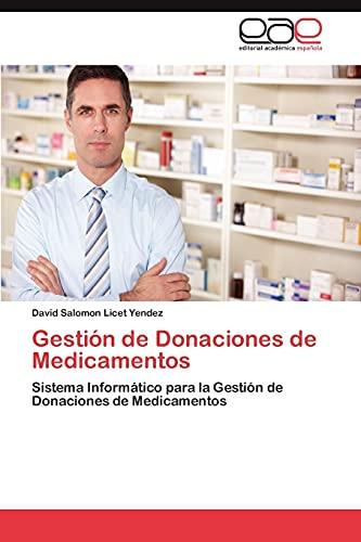 Gestión de Donaciones de Medicamentos: Sistema Informático para la Gestión de ...