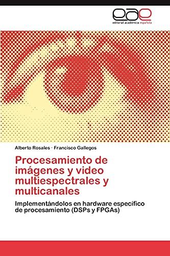 9783845489780: Procesamiento de imágenes y video multiespectrales y multicanales: Implementándolos en hardware específico de procesamiento (DSPs y FPGAs) (Spanish Edition)