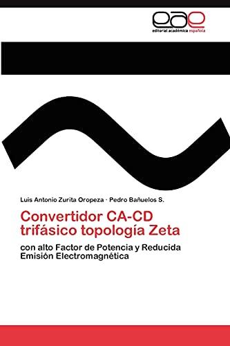 9783845489858: Convertidor CA-CD trifásico topología Zeta