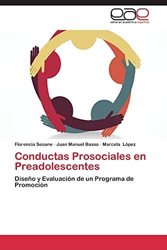 Conductas Prosociales En Preadolescentes: Marcela LÃ pez