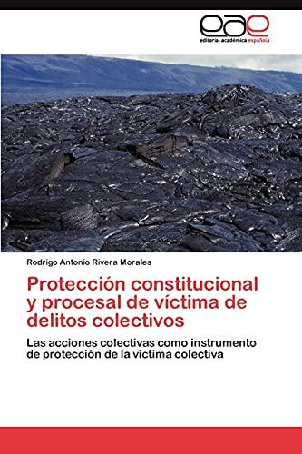 9783845491196: Protección constitucional y procesal de víctima de delitos colectivos: Las acciones colectivas como instrumento de protección de la víctima colectiva (Spanish Edition)