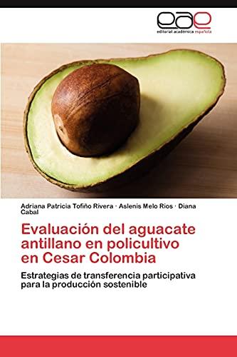 9783845491325: Evaluación del aguacate antillano en policultivo en Cesar Colombia: Estrategias de transferencia participativa para la producción sostenible (Spanish Edition)