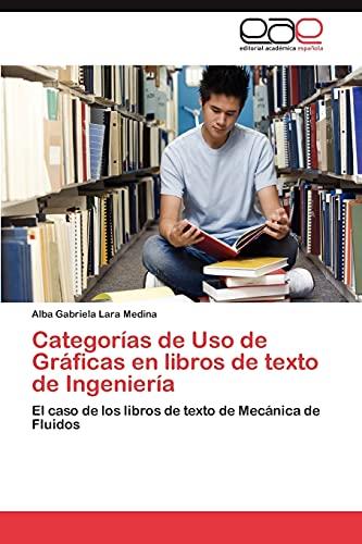 Categorías de Uso de Gráficas en libros: Lara Medina, Alba