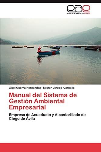 9783845493619: Manual del Sistema de Gestion Ambiental Empresarial