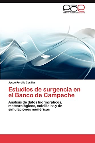 9783845498560: Estudios de surgencia en el Banco de Campeche: Análisis de datos hidrográficos, meteorológicos, satelitales y de simulaciones numéricas (Spanish Edition)