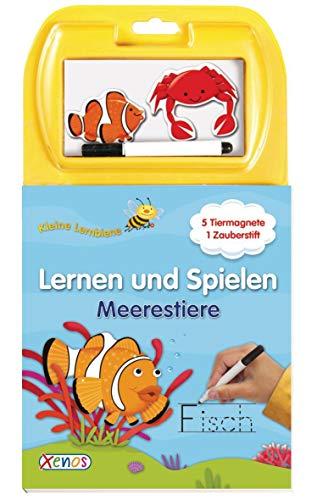 9783845500188: Kleine Lernbiene. Lernen und Spielen. Meerestiere Fische: mit fünf großen Magneten