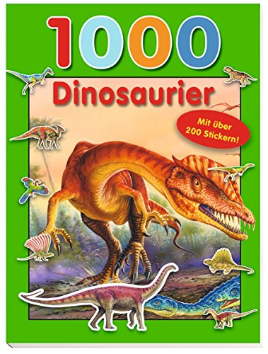 9783845501482: 1000 Dinosaurier