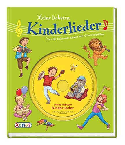 9783845504155: Meine liebsten Kinderlieder mit CD: 80 bekannte Lieder mit Gitarrengriffen